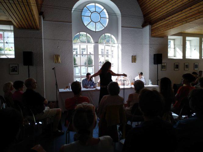 שש הערות בעקבות פסטיבל הספרות הבינלאומי בלויקרבאד, שווייץ